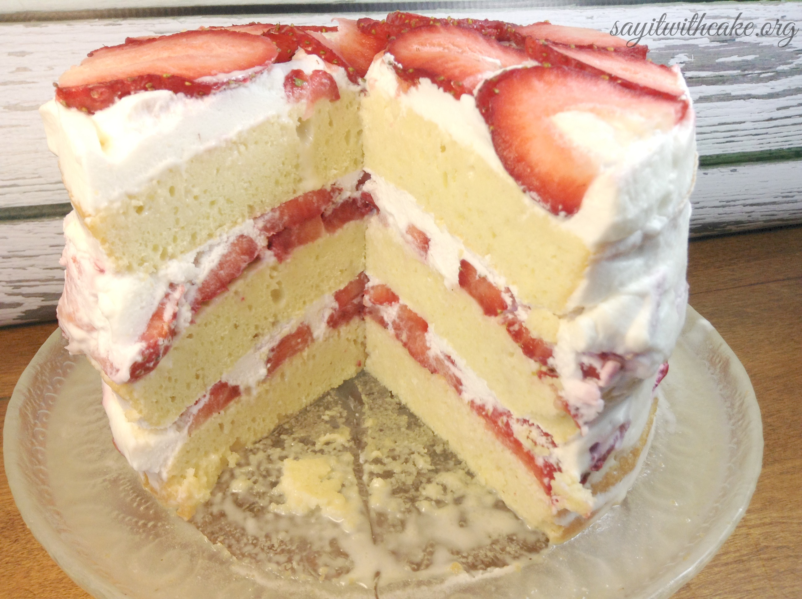 strawberry layer cake filling