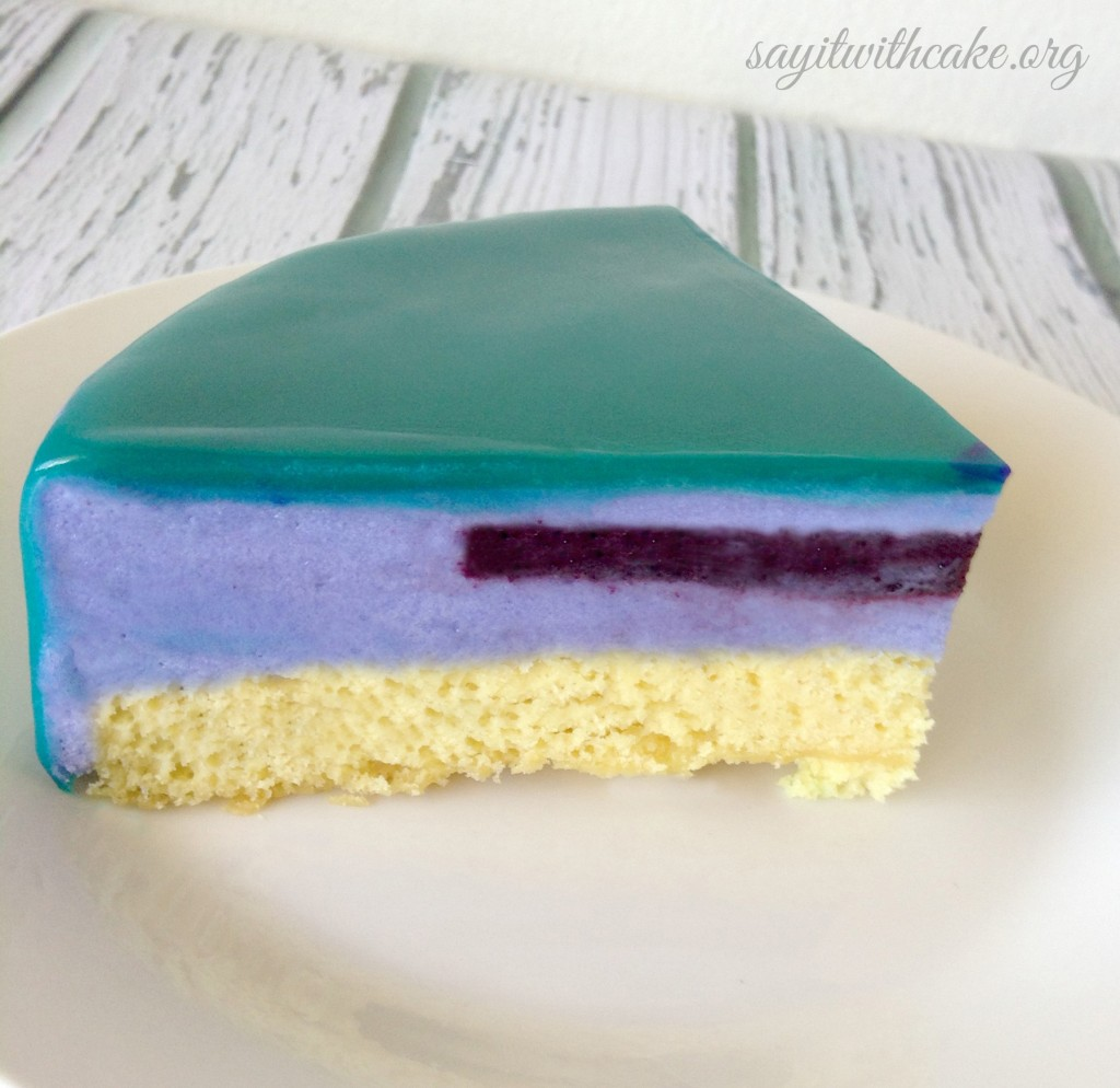 Vanilla Chocolate Mousse Cake