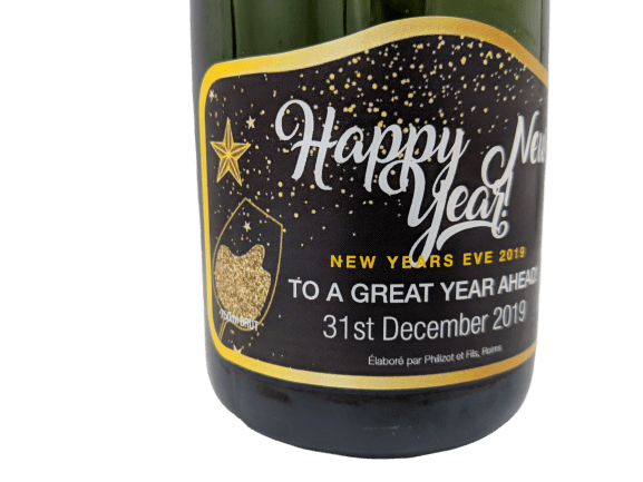 personalised champagne bottles labels