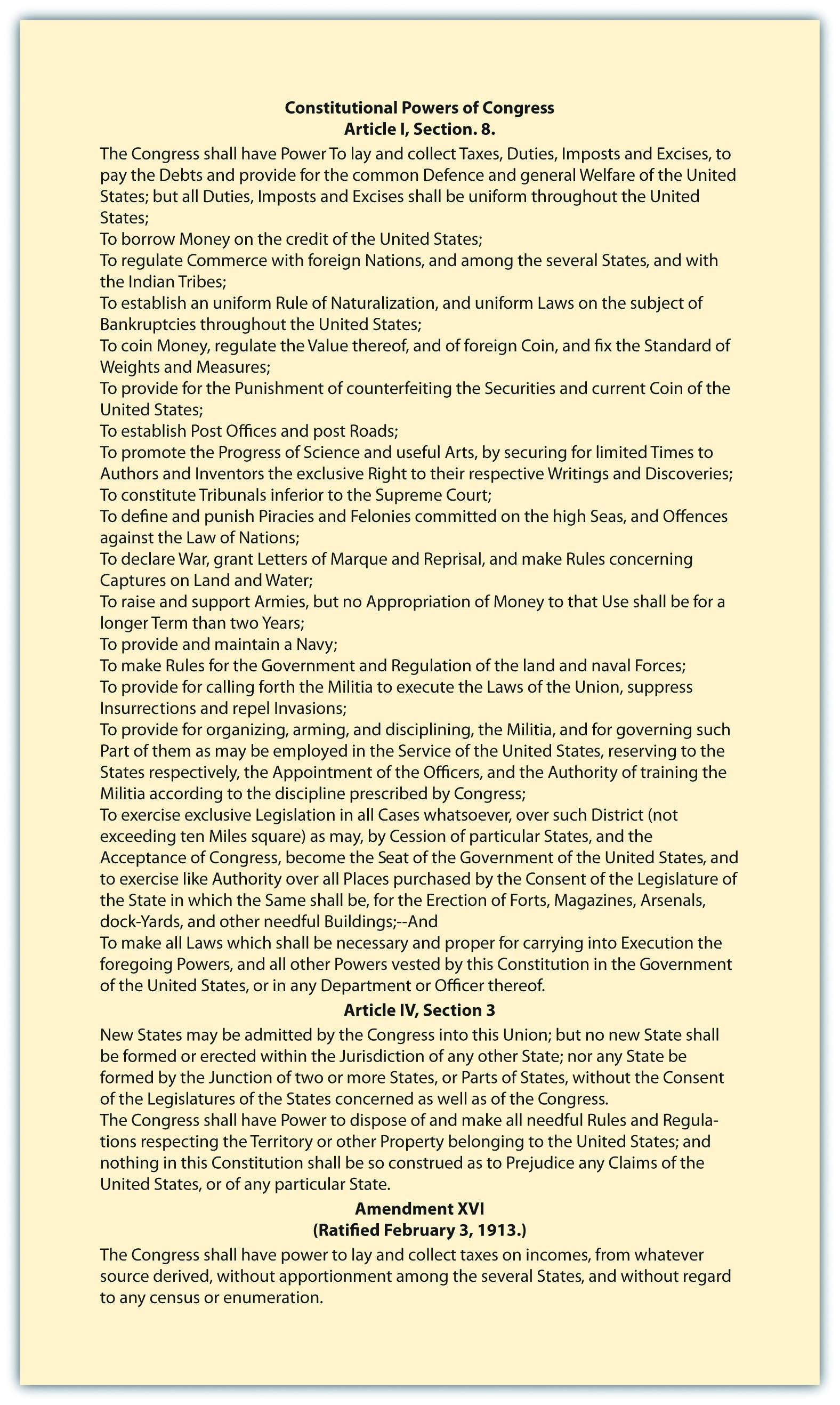 Article 1 The Legislative Branch Worksheet Answers