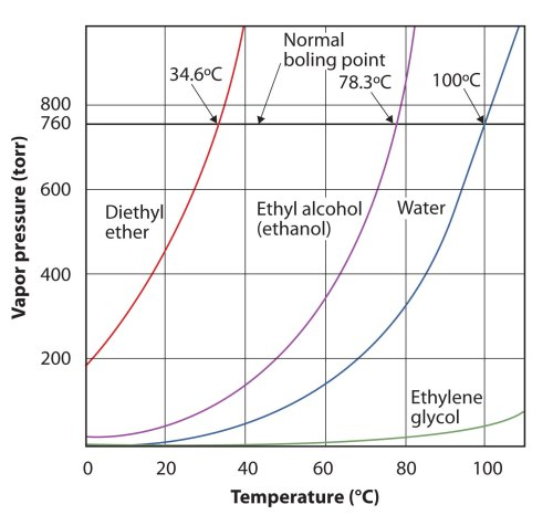 small resolution of plot graph comparing the vapor pressure and temperature of diethyl ether ethanol water and