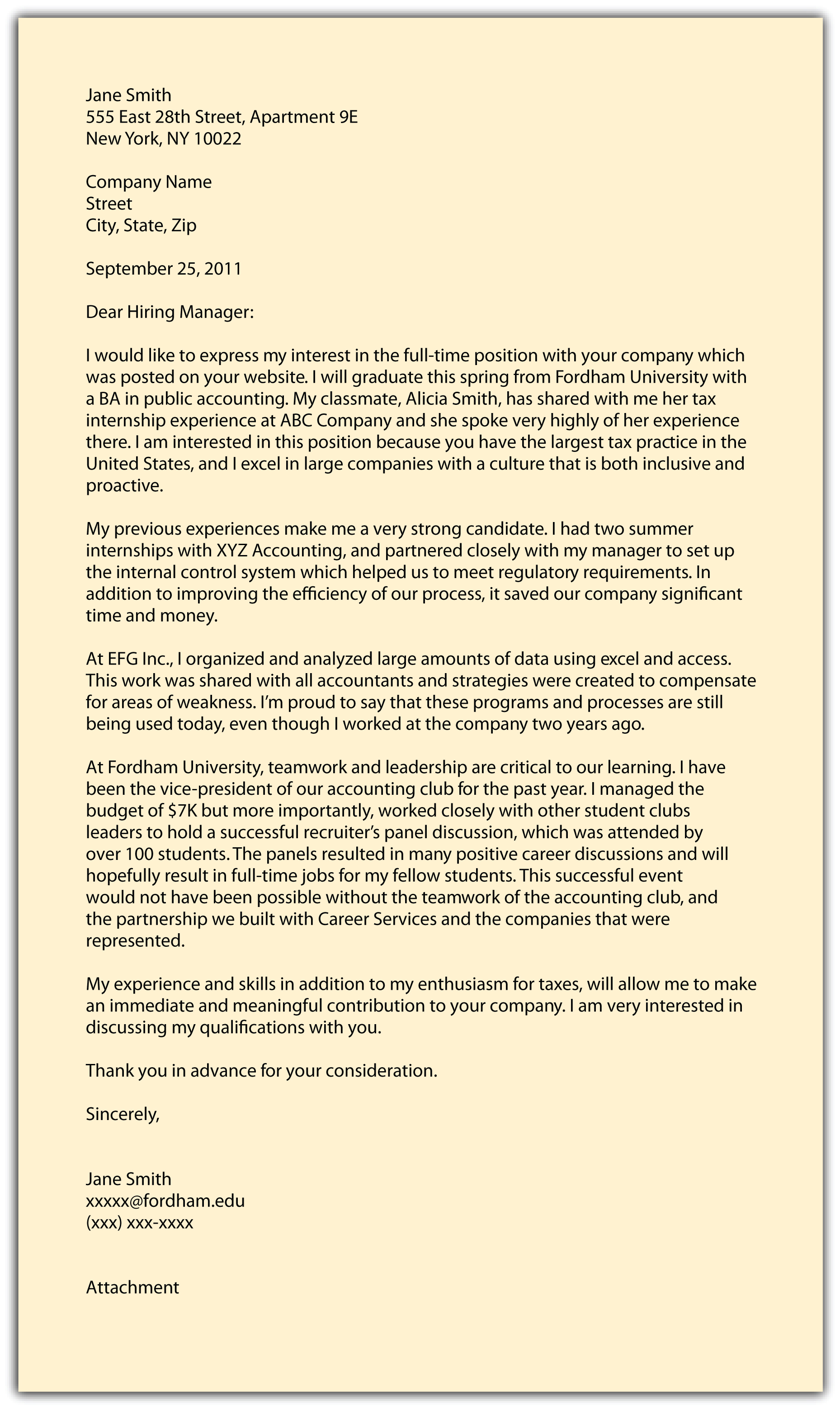 Internal Sales Executive Cover Letter The Cover Letter