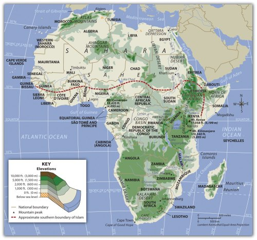small resolution of Subsaharan Africa