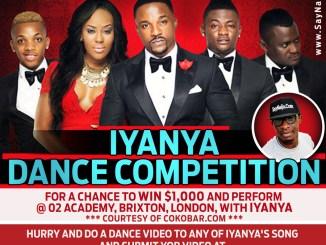 iyanya dance competition, triplemg