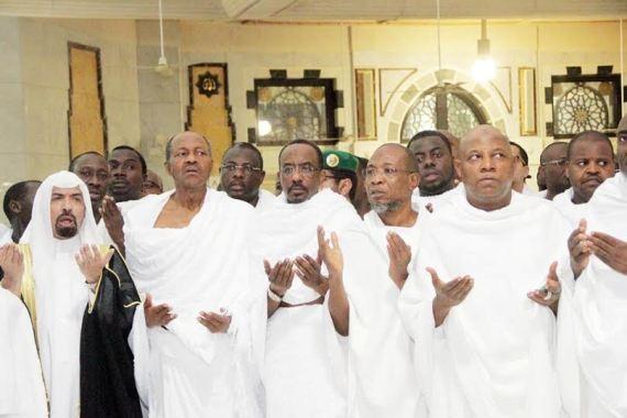 buhari at mecca