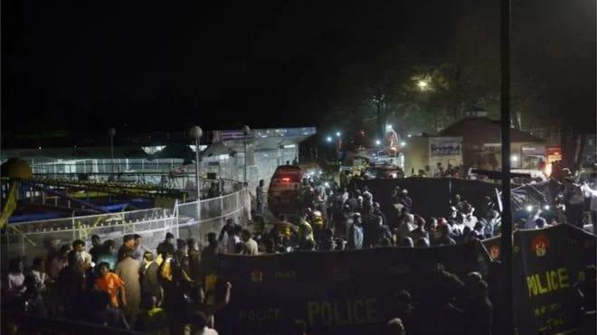60 feared dead in easter day tragedy
