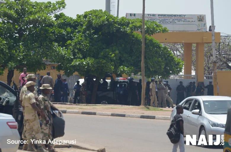 Nigeria escape major stampede in Kaduna