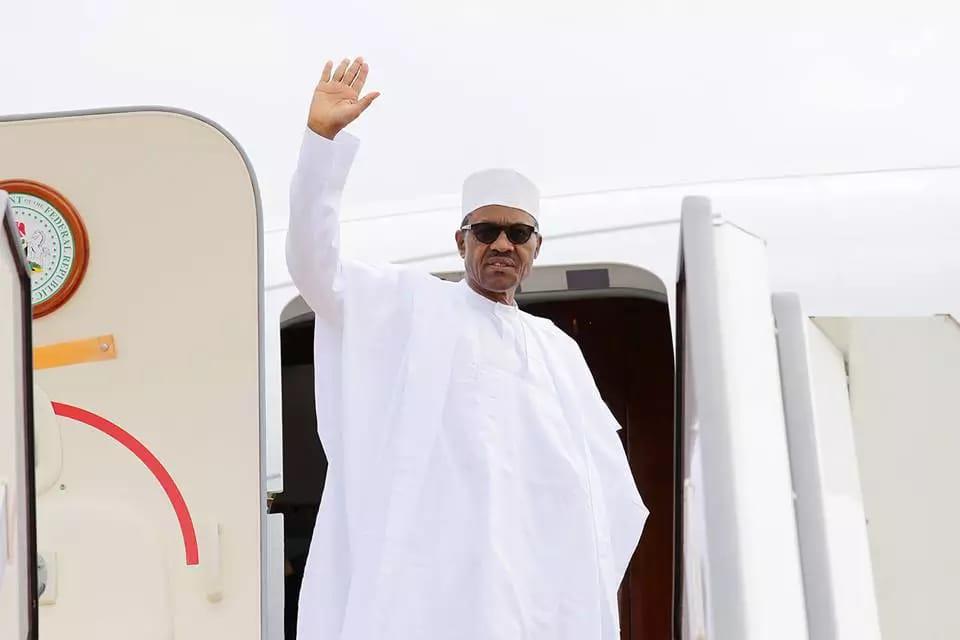 President Buhari departs for Equatorial Guinea