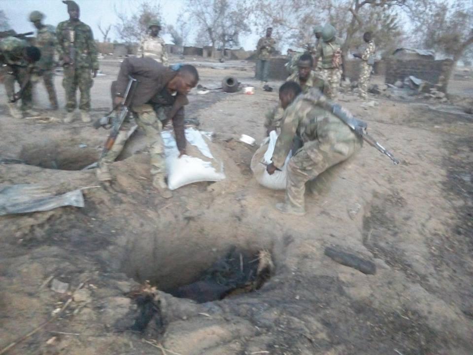 TROOPS CLEAR BOKO HARAM TERRORISTS OUT OF BIGGORO AND WARPAYA1