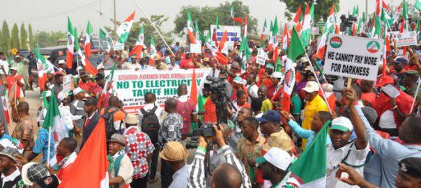 Nigeria Police attack striking labour leaders in Ebonyi