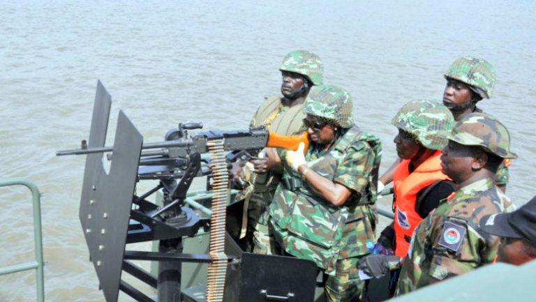 Nigerian soldiers die in Niger Delta boat mishap