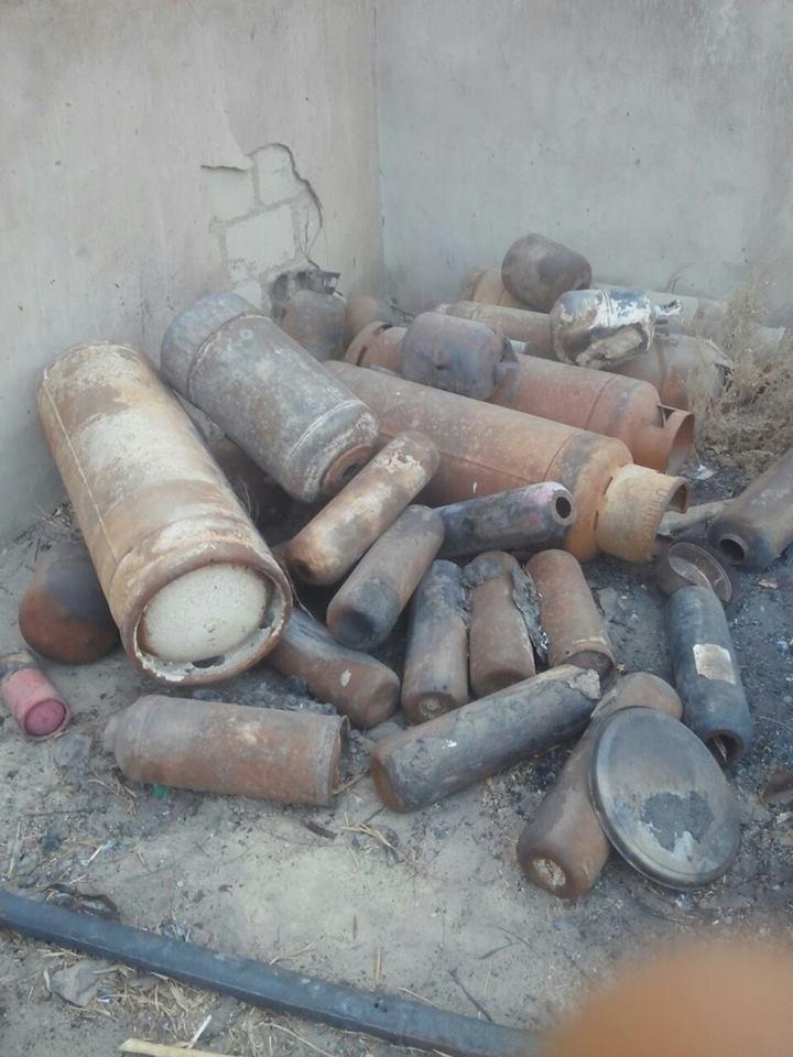 TROOPS BURSTS BOKO HARAM BOMB MAKING FACTORY