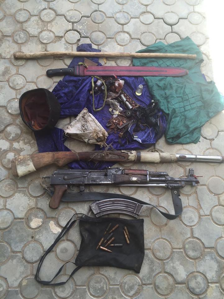 Nigerian Army Destroy Bandits Camps In Kaduna And Zamfara States