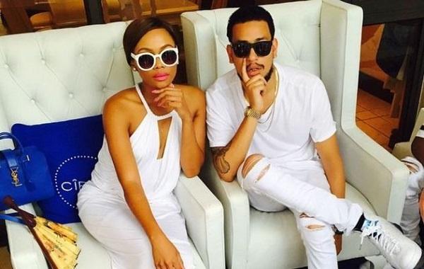 Bonang Matheba and AKA Bag Nomination for South Africa's Favourite Couple Award