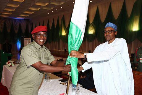 President Buhari Hands Over Team Nigeria Ahead of the Olympics