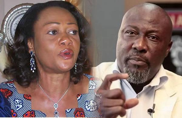 Tinubu's wife asks Senate, APC to sanction Melaye