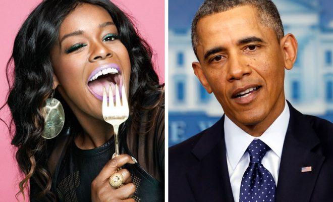 'Shut the F*ck' – Azealia Banks Slams President Obama