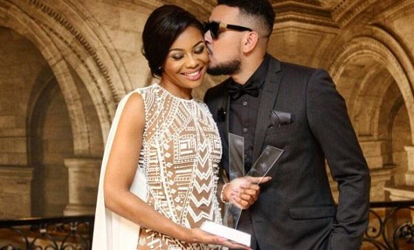 Bonang Matheba and AKA Bag South Africa's Favourite Couple Award
