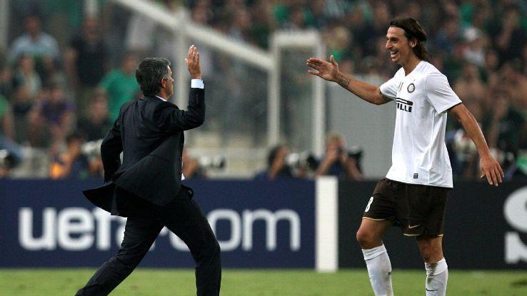 Ibrahimovic reunites with Mourinho at United