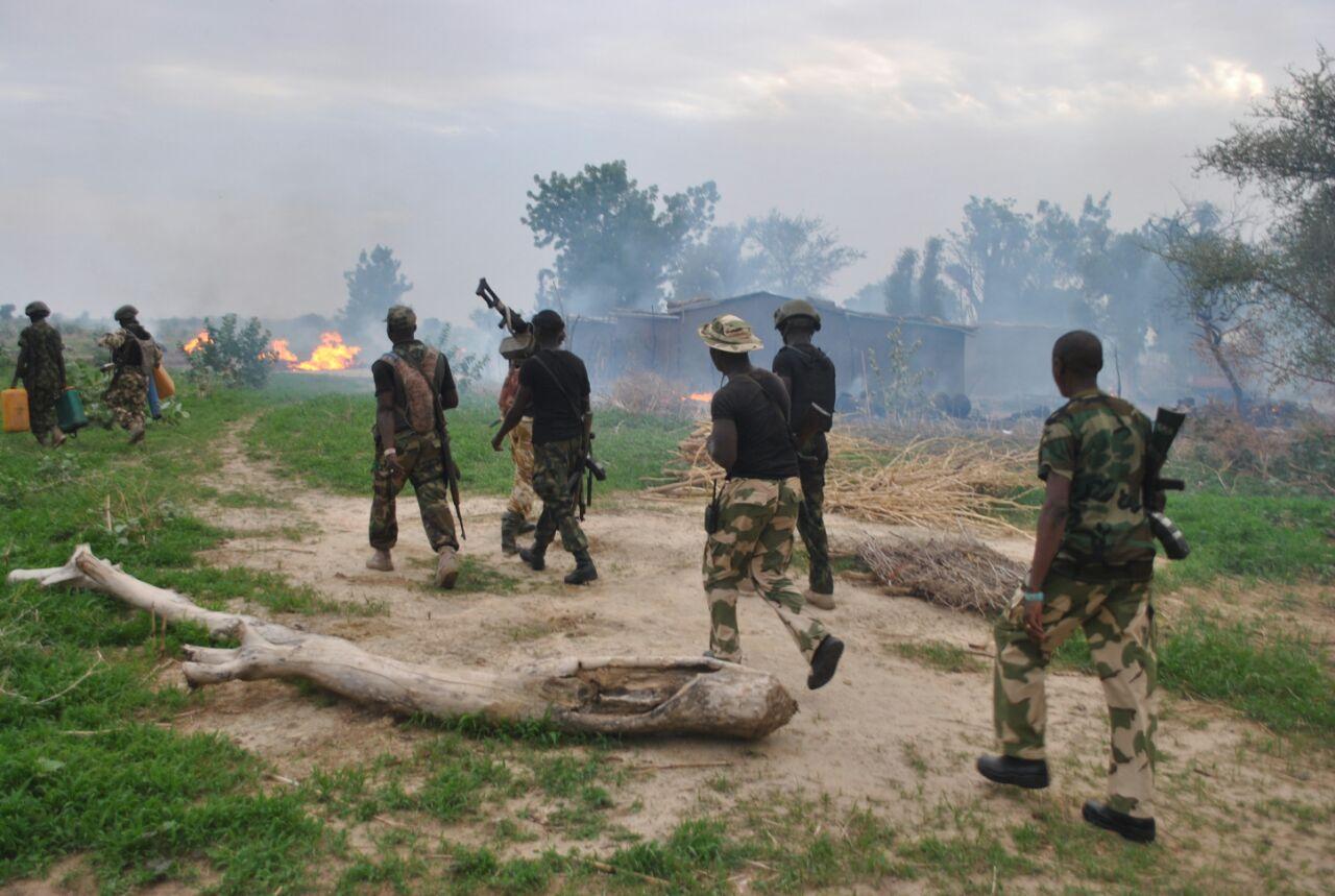 Nigerian Army Invade Boko Haram Sleeper Cell