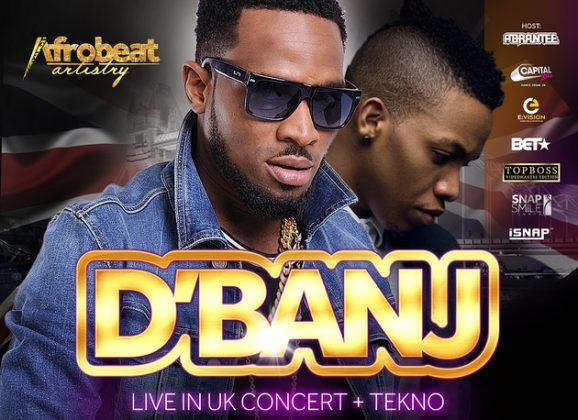 Koko Master is Back: D'Banj Announces Biggest UK Headline Tour