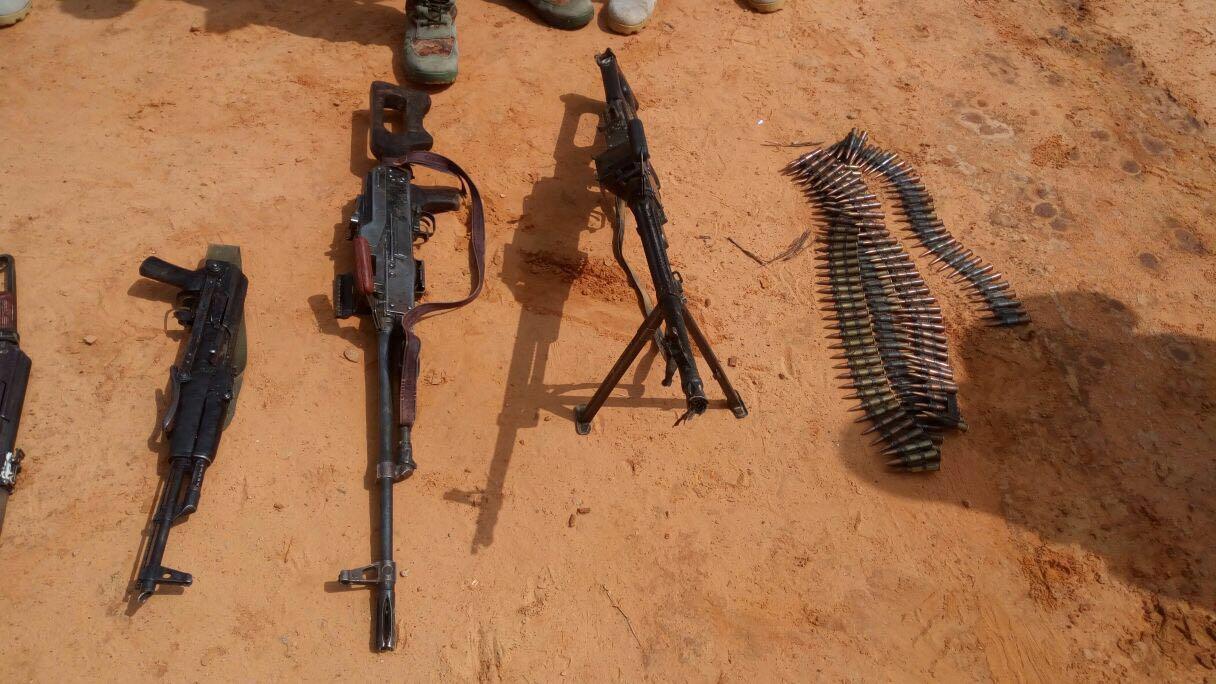 Nigerian Army Clears Boko Haram Hideouts In Yobe