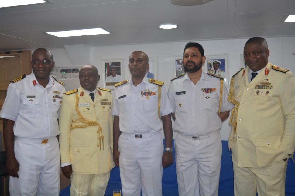 Nigerian Navy Ship Arrives Port Of Colombo In Sri Lanka