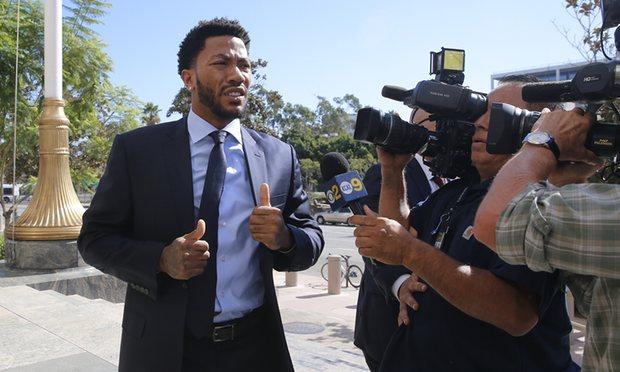 NBA Star Derrick Rose Takes Stand At Rape Scandal