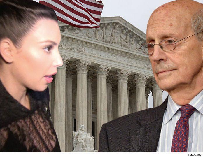 US Supreme Court Justice Thinks Kim K's Jewelry Heist Is a Fraud