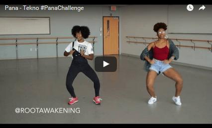 Watch: Tekno - Pana Dance Video