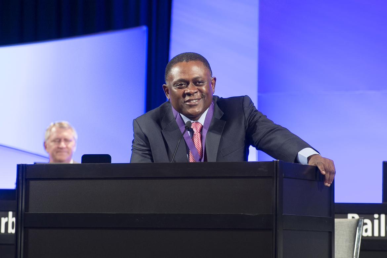 Dr. Bennet Omalu Receives Highest American Medical Association Award