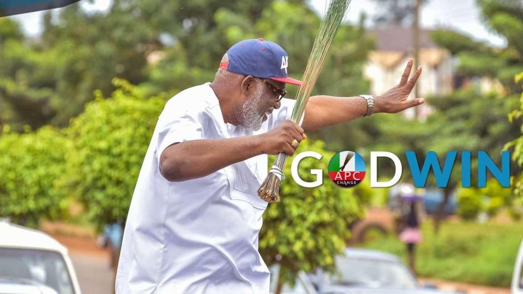 BREAKING: INEC declares Akeredolu winner of Ondo governorship election