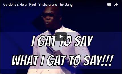 Gordons x Helen Paul - Shakara and The Gang