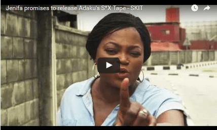 Jenifa threatens to release Adaku's sex tape in hilarious video