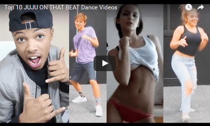 Top 10 JUJU ON THAT BEAT Dance Videos