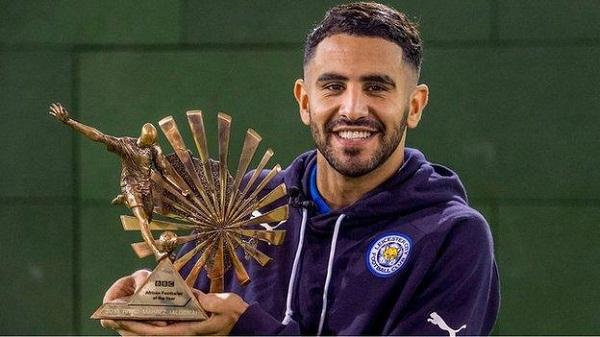 Riyad Mahrez Named BBC African Footballer of the Year