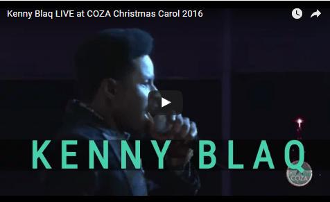 Kenny Blaq LIVE at COZA Christmas Carol 2016