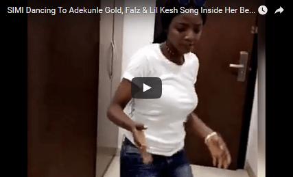 Watch Simi Dancing Hit Song By Adekunle Gold In Her Bedroom