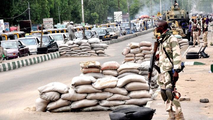 Nigerian army intercept female suicide bomber in Borno