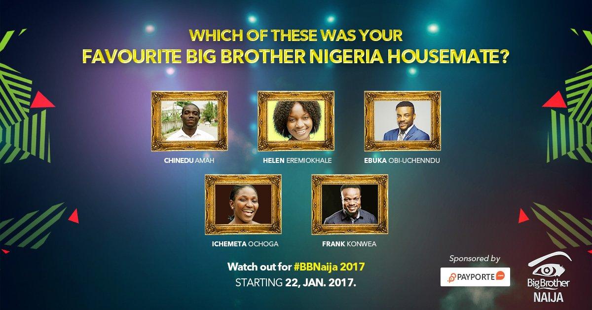 #BBNaija 2017: Meet the Contestants of Big Brother Naija 2017