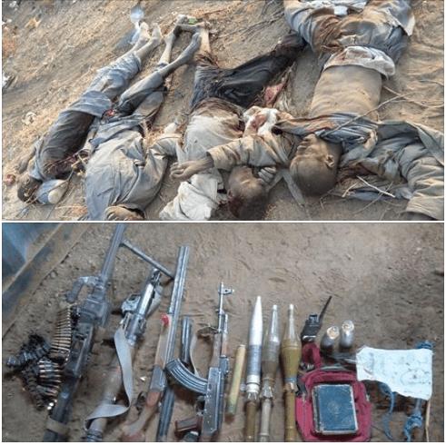 Nigerian Army Kill Boko Haram Terrorists In Borno State