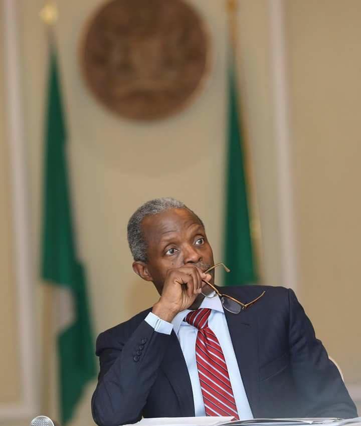 Osibanjo Reveals Plots Against President Buhari's Anti-Graft War