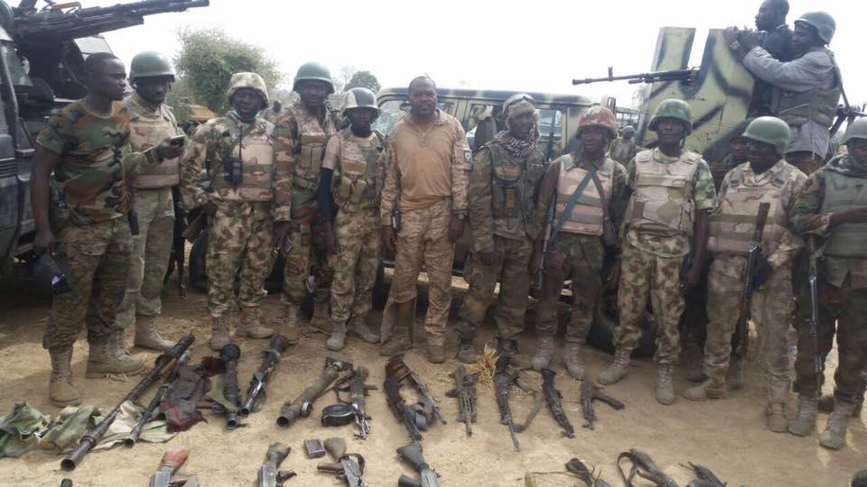 Nigerian Army Recover Shilka and Gun Truck From Fleeing Boko Haram Terrorists