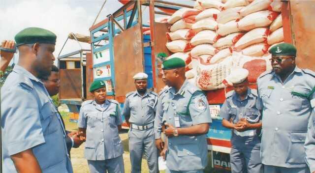 Customs Raid Warehouse, Impound 9,000 Bags of Rice Worth N88m
