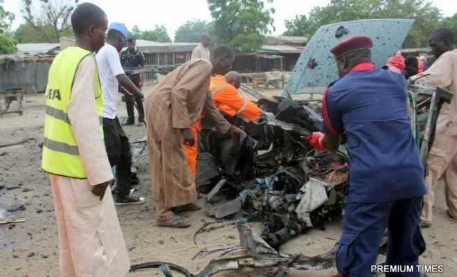 Bomb Blast Rocks Maiduguri, at Least 3 Dead