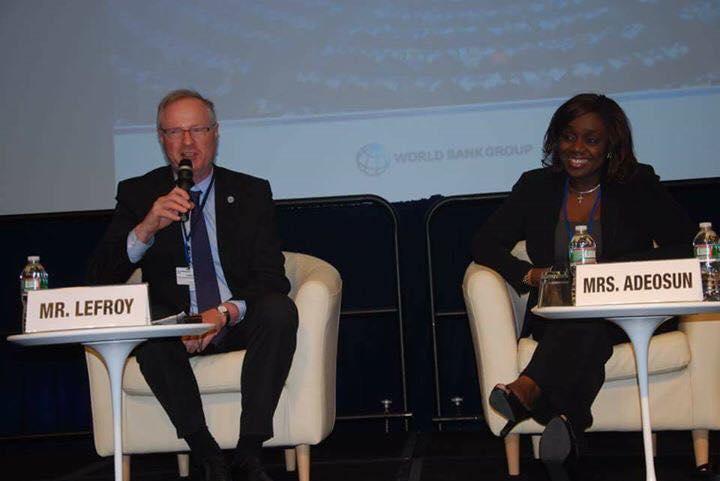 Minister Of Finance, Kemi Adeosun, Takes Economic Reform Agenda To World Bank Spring Meetings