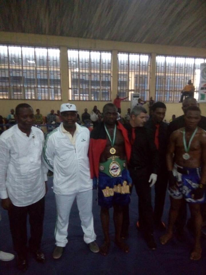 Nigerian Army Kick-Boxing Team Wins The 2017 National Open Kick-Boxing Championship