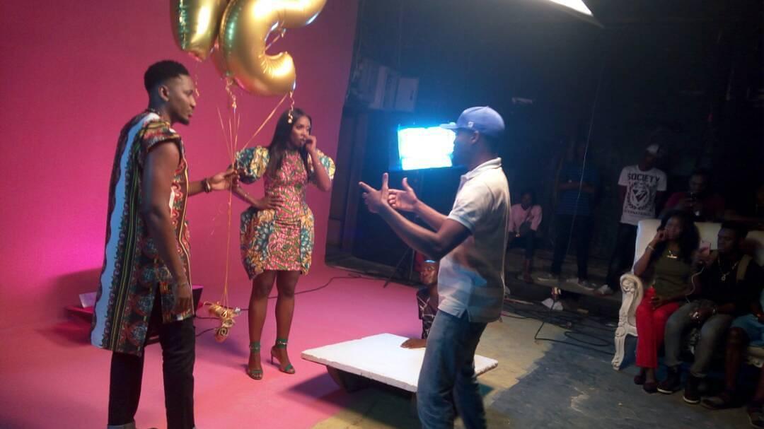 "VIDEO: Pepenazi - ""Ase"" ft Tiwa Savage | B.T.S Photos"