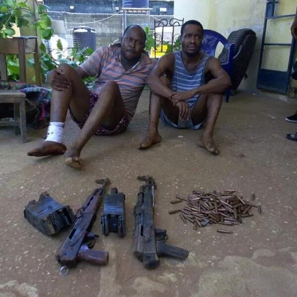 Nigerian Police Arrest Owerri Bank Robbers