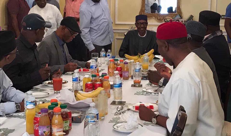 Gov. Okorocha In Greatest Shock About Buhari's State Of Health